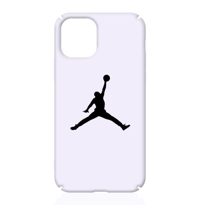 Coque iPhone 11,NIKE Air Jordan Blanc Coque Compatible iPhone 11 ...
