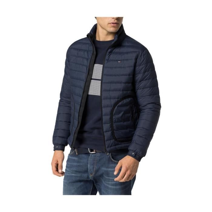 blouson tommy hilfiger charley bleu marine bleu achat vente blouson soldes d t cdiscount. Black Bedroom Furniture Sets. Home Design Ideas