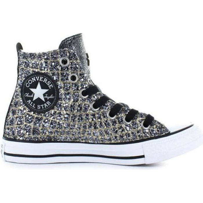 Vente Argent Converse Or Croco Star Achat Baskets All 8xOwq0n0U