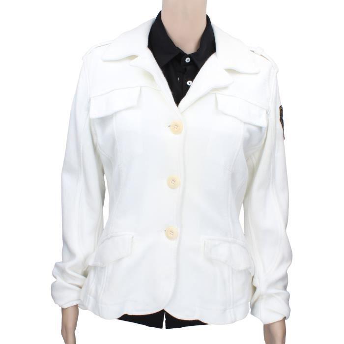 DOUDOUNE TOKEN Vêtements Femme Veste légère Blanc AR980