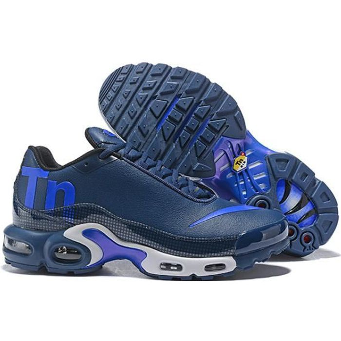 Basket NIKEs AIRs MAX TN Plus TxT Chaussures de Running Homme bleu ...
