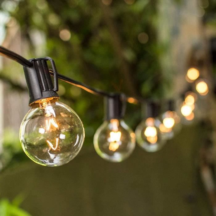 Guirlande lumineuse exterieur