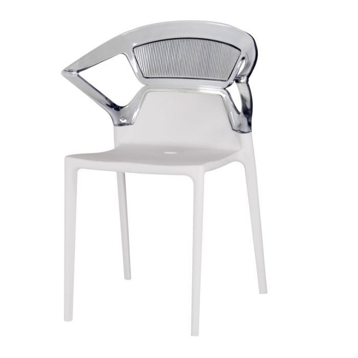 Table rabattable cuisine paris fly chaise transparente - Chaises pliantes transparentes ...