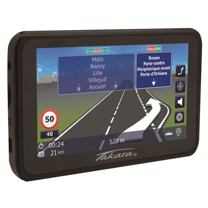 takara gp83cav gps 4 3 16 pays cartes tomtom gratuites vie achat vente gps auto. Black Bedroom Furniture Sets. Home Design Ideas