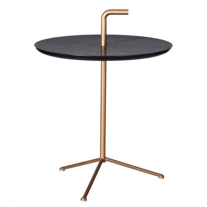 table d 39 appoint pi tement cuivre parky l 50 x l 50 x h 64 cm achat vente table d 39 appoint. Black Bedroom Furniture Sets. Home Design Ideas