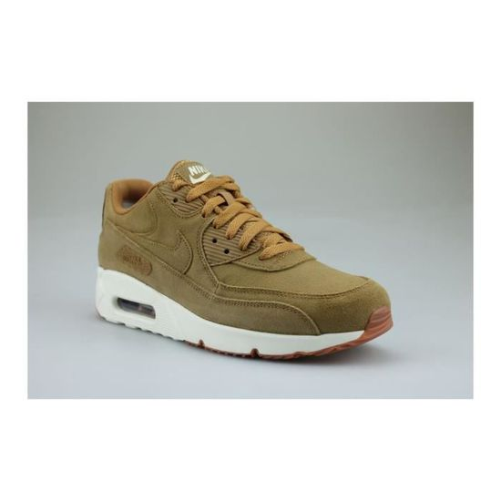 Nike Air Max 90 Ultra 2.0 Leather Marron Marron - Cdiscount Chaussures