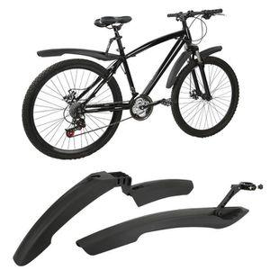 Vélo Protection tôles 28 in 56 mm argent Plastique