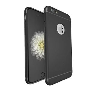 coque iphone 6 plus noir mat