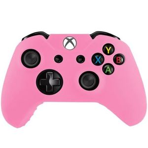 HOUSSE DE TRANSPORT XBOX One Coque Housse Silicone Manettes Rose