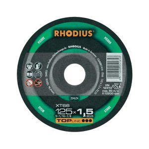 ACCESSOIRE MACHINE Disque à tronçonner Ø185MM Rhodius XT68