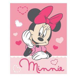 COUVERTURE - PLAID Couverture en molleton Minnie Mouse