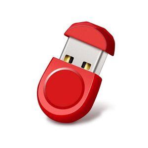 CLÉ USB Clé USB 32Go Mini Short Petit U Disque étanche Rou