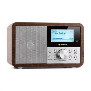 RADIO CD CASSETTE auna Worldwide Mini Radio numérique Internet WiFi