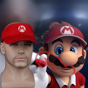 CHAPEAU - PERRUQUE 2018 Mario Tennis Ace Chapeau Mario Cap Mario Chap