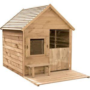 MAISONNETTE EXTÉRIEURE Cabane en bois pour enfant  HEIDI