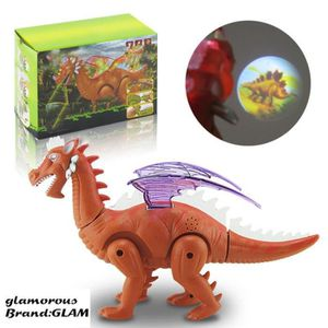 FIGURINE - PERSONNAGE GLAM ®Dinosaure jouet pour garçon à distance Tyran