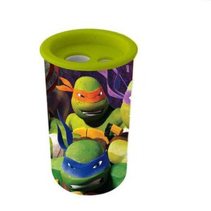 TAILLE CRAYON Taille crayon Tortue Ninja 2 trou New GUIZMAX