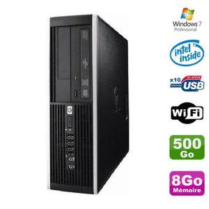 ORDI BUREAU RECONDITIONNÉ PC HP Elite 6000 Pro SFF E5400 2.7Ghz 8Go Disque 5