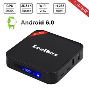 BOX MULTIMEDIA Leelbox Q1 PLUS TV BOX - Android 6.0 1GB+8GB - BT