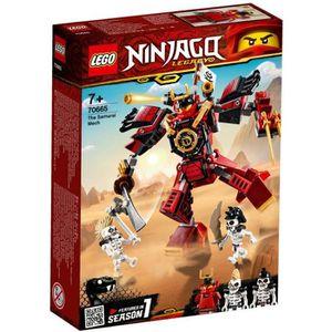 ASSEMBLAGE CONSTRUCTION LEGO® NINJAGO® 70665 Le Robot Samouraï