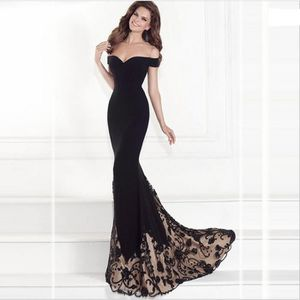 ROBE GLAM® Nouvelle robe de soirée à encolure sur épaul