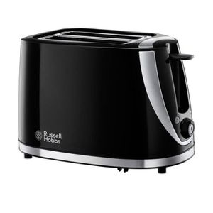 GRILLE-PAIN - TOASTER Russell Hobbs 21410 Grille-Pain Noir À 2 Tranches