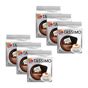 CAFÉ 6 Tassimo Carte Noire Cappuccino