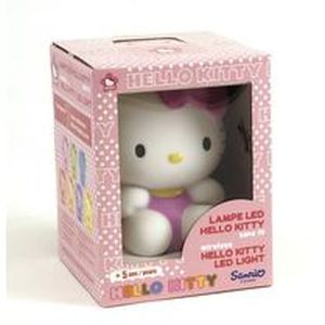 LAMPE A POSER HELLO KITTY Lampe 13cm Rose