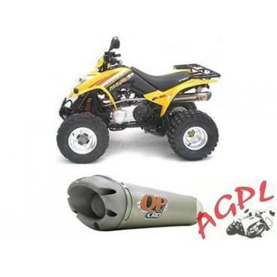 MXU 250//300 en acier inoxydable Pot d/échappement Kymco Maxxer 250//300 KXR 250