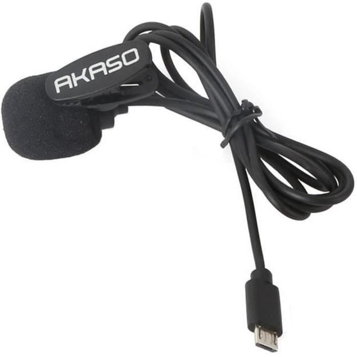2019 AKASO V50 Pro SE LNT 4K/60fps Ecran Tactile WiFi Action Caméra EIS 39m Etanche Caméra Sports Télécommandée Kit Accessoires