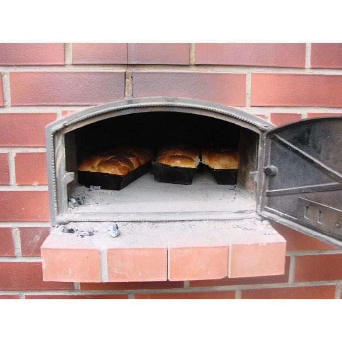 Fours à pizza extérieurs Sellon24 H1004 Porte de Four en Fonte 96159