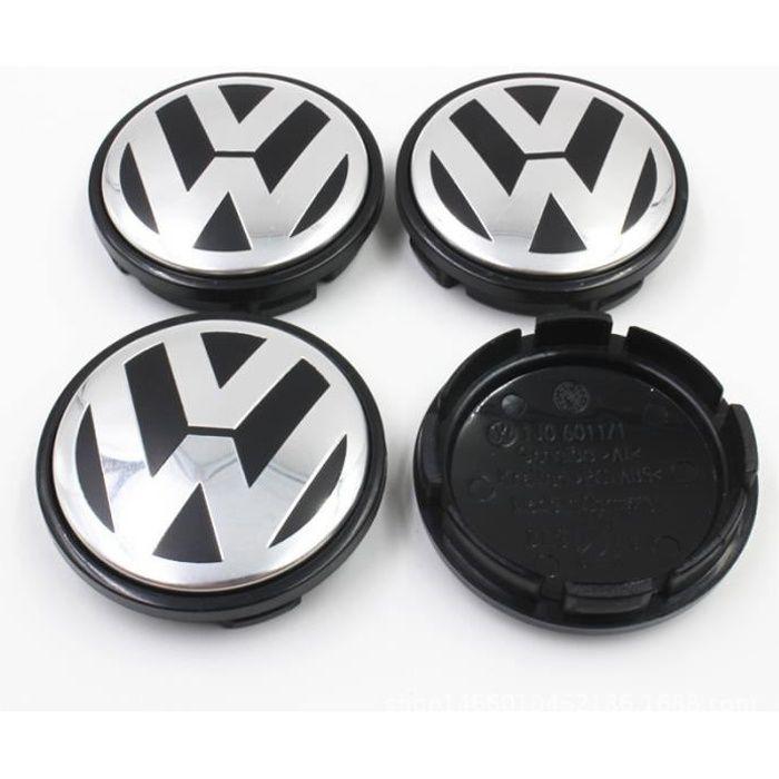 4 x Centres de Roue Caches Moyeux Volkswagen 56mm 1J0601171