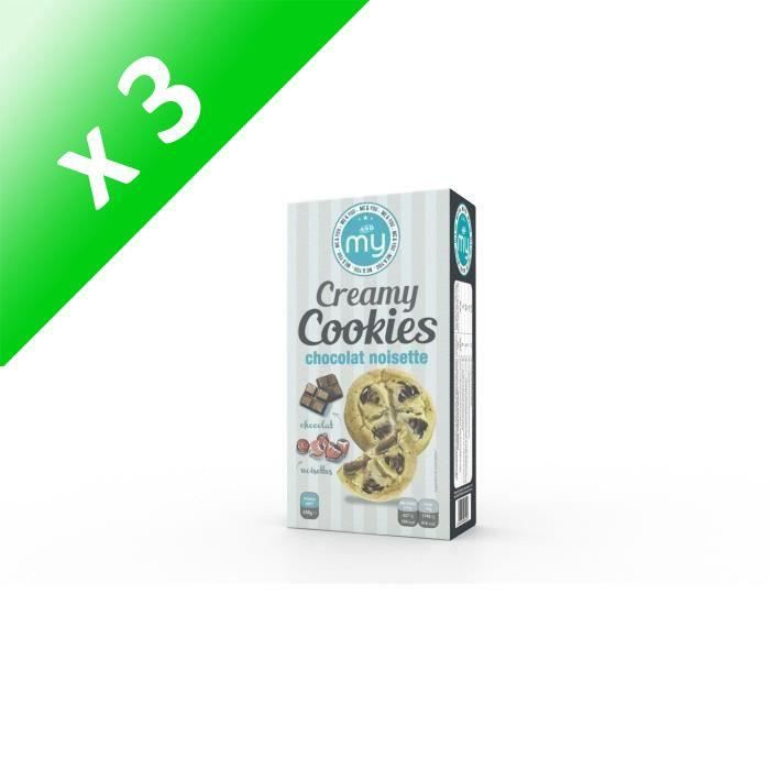 [LOT DE 3] My creamy cookies choco noisette 150g