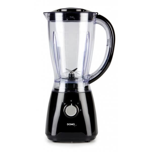 Blender 1,5L. - Design noir - Egalement pileur …