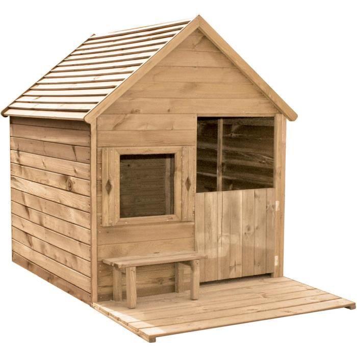Cabane en bois pour enfant HEIDI