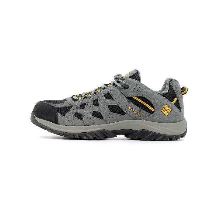 Chaussures de randonnée Columbia Canyon Point Waterproof coloris Black - Squash