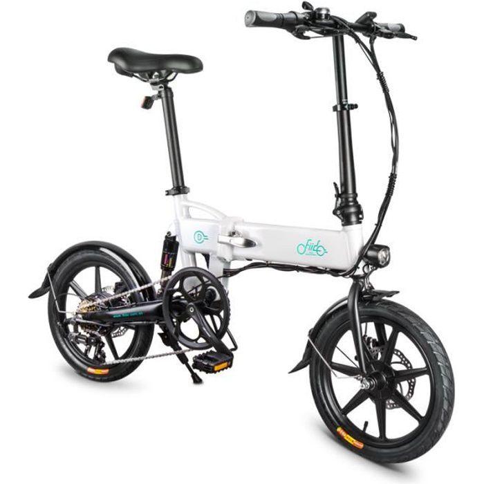 Stock en Allemagne!!! FIIDO D2S Vélo électrique Blanc