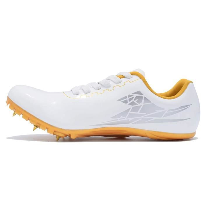 Chaussures De Running N402K Chaussures Track Spikes Distance en cours Chaussures de sport Athletic Sprinting Athlétisme Course Chaus