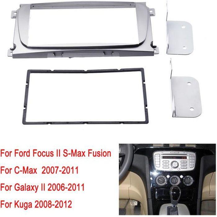AVANC Kit de Façade Autoradio 2-DIN Pour Ford Focus II C-Max S-Max Fusion