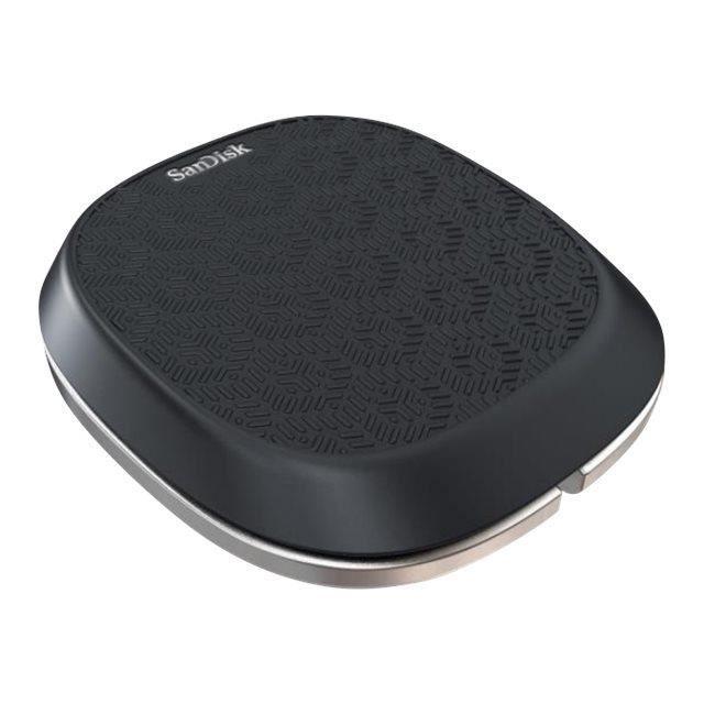 Sandisk Lecteur flash Usb avec chargeur intégré Ixpand Base 32 Go Usb 2.0 / Lightning
