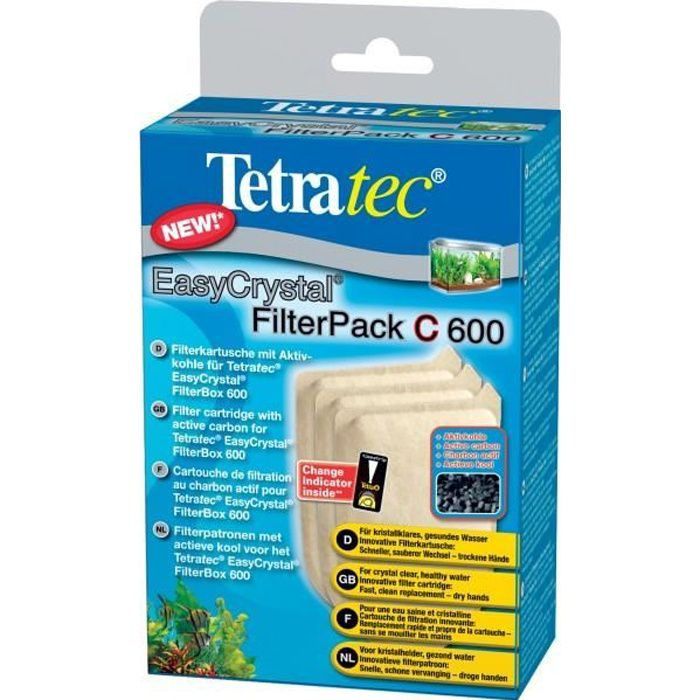 Tetra - Filterpack Charbon 600