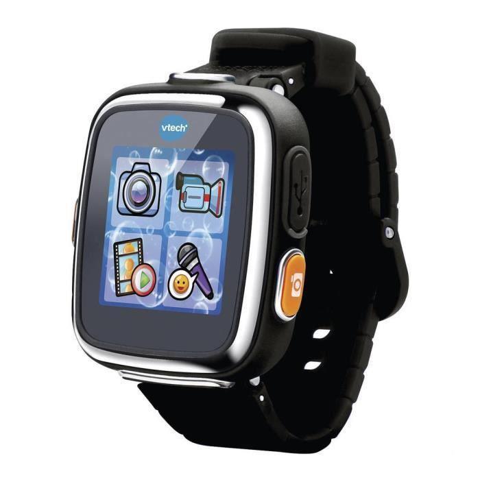 VTECH - Kidizoom Smartwatch Connect DX Noire - Montre Connectée Enfant