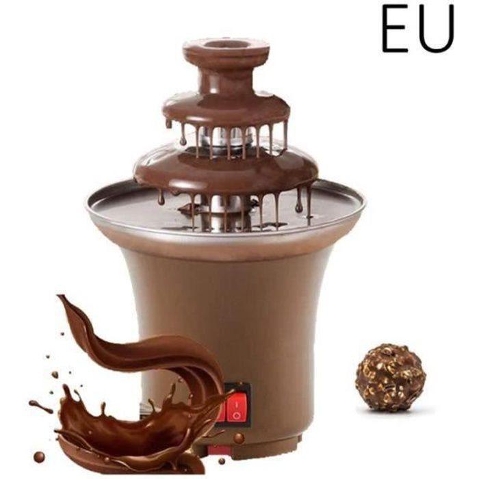 XX08385-14.5cm 3 Cascades Fontaine de Chocolat Domestique Electrique Ustensiles de Cuisine - EU