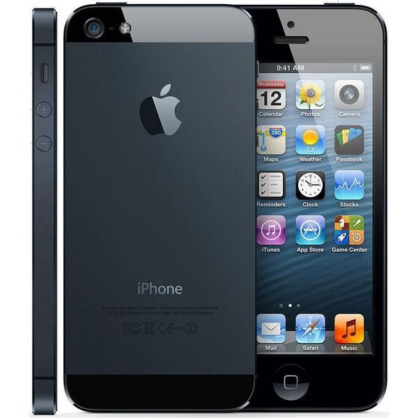 apple iphone 5 32go gris sid ral achat smartphone pas. Black Bedroom Furniture Sets. Home Design Ideas