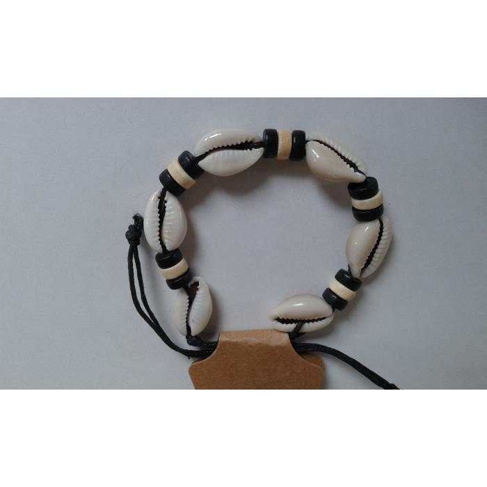 bracelet coquillage homme
