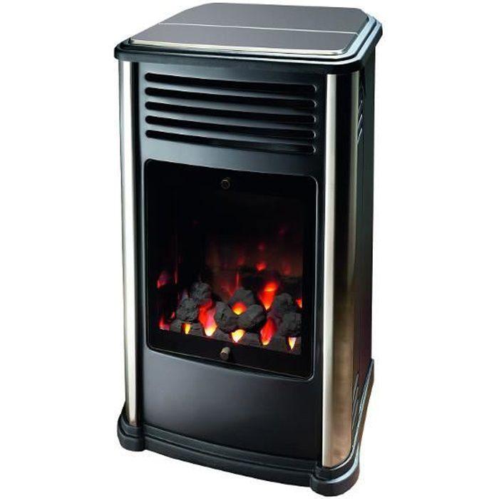 POÊLE À GAZ Manhattan chauffage gaz design mobile 3 kW