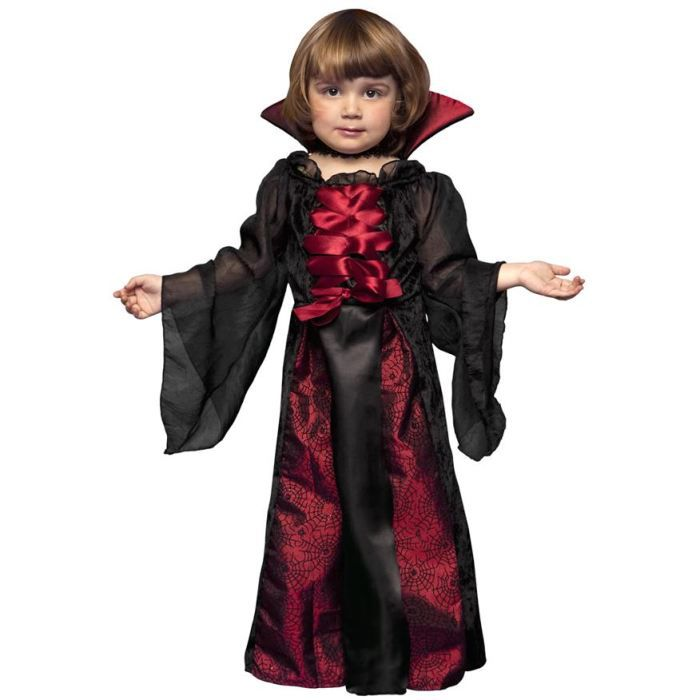 d guisement reine des vampiresses halloween enfant 1 2 ans achat vente d guisement. Black Bedroom Furniture Sets. Home Design Ideas