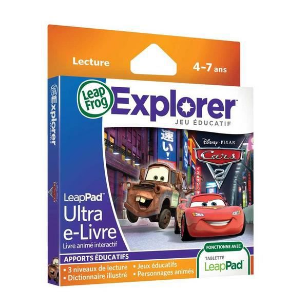 Leappad Ultra E Livre Cars 2 Multimedias