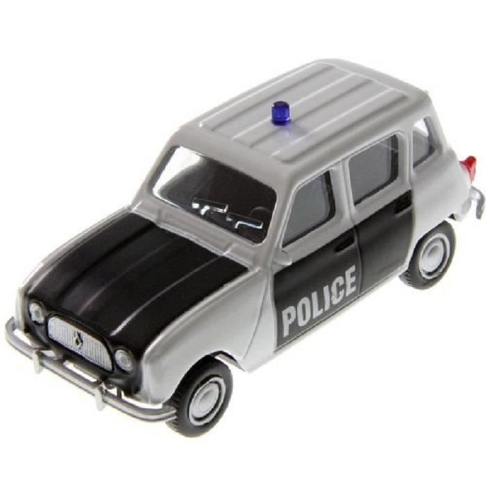 voiture miniature 1 43 renault 4l police metal neuf mondo motors achat vente voiture. Black Bedroom Furniture Sets. Home Design Ideas