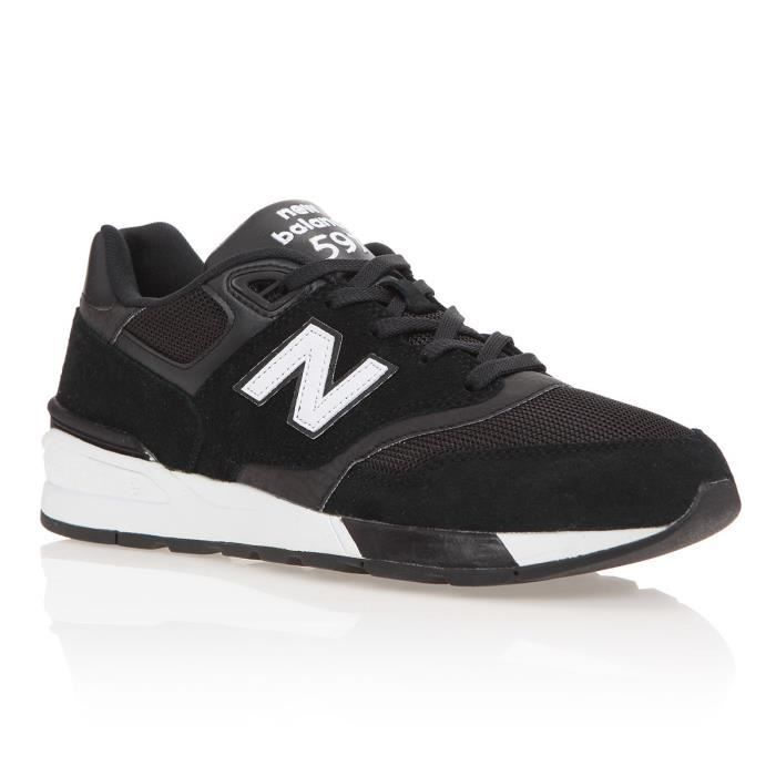 check out f846d aceda BASKET NEW BALANCE Baskets 597 - Homme - Noir et blanc